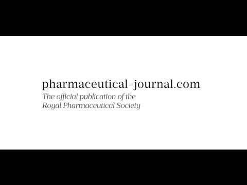 The Pharmaceutical Journal relaunch