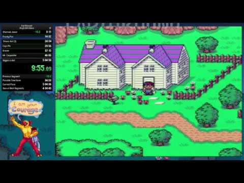 Earthbound Any% Glitchless Speedrun in 4:54