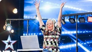 Expect the unexpected! Dizzy Twilight drops the beat   Auditions Week 4   Britain's Got Talent 2017