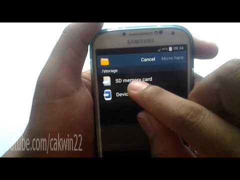 Cara Memindahkan File ke SD Card di Android 4.4 Kitkat