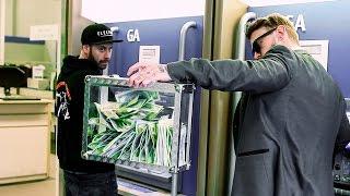 MAGICIAN ROBS BANK!! (ATM PRANK)