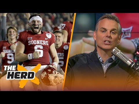 Colin Cowherd's Mayfield - Manziel comparison, Talks Carson Wentz replacing Nick Foles | THE HERD