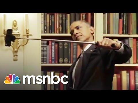 Obama's BuzzFeed Video: Selfie Sticks & Cookies   msnbc