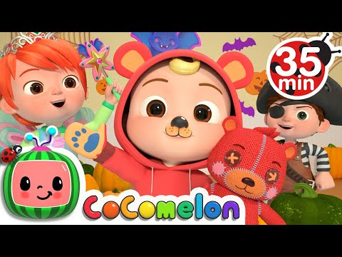 Halloween Costumes For Kids + More Nursery Rhymes & Kids Songs - CoComelon