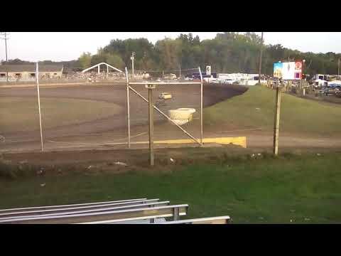 Cedar Lake Speedway  Legendary 100  Night 1:  Pure Stocks  Heat 1  (9-14-17)