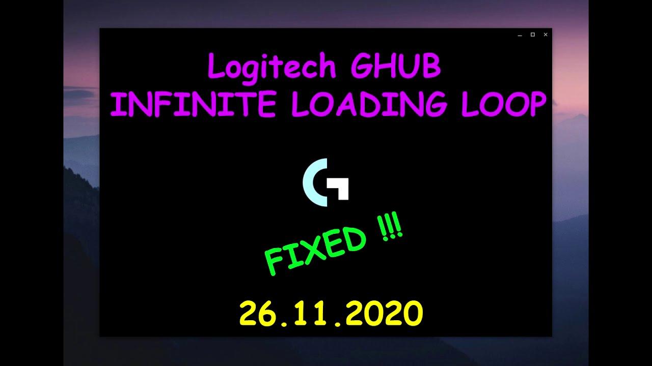 Cum sa repari Logitech G HUB Loading Loop | 2020 | 26.11.2020 |