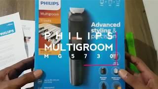 UNBOXING Philips Multigroom MG5730 Indonesia