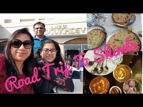 Anniversary Vlog   Road Trip Delhi To Shimla   H&M Shopping Haul / Sukhdev Dhaba In Murthal