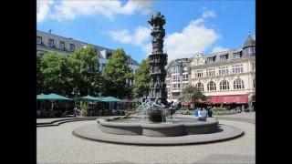 Koblenz  Deutsches Eck   Rheinland-Pfalz   Deutschland