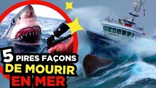 5  SCARIEST DANGERS in the SEA