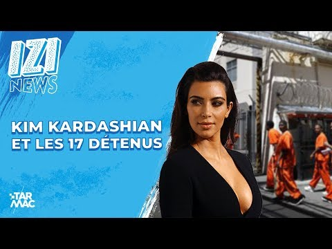 Kim Kardashian Et Les 17 Détenus • IZI NEWS