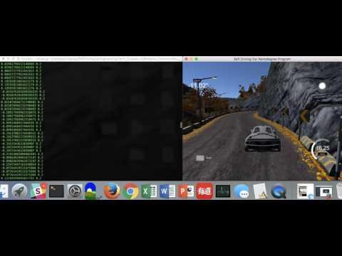 Autonomous / Self Driving Vehicle using Convolutional Neural Network.