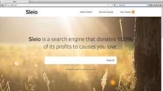 Как сделать Sleio поисковой системой по умолчанию в Firefox HD