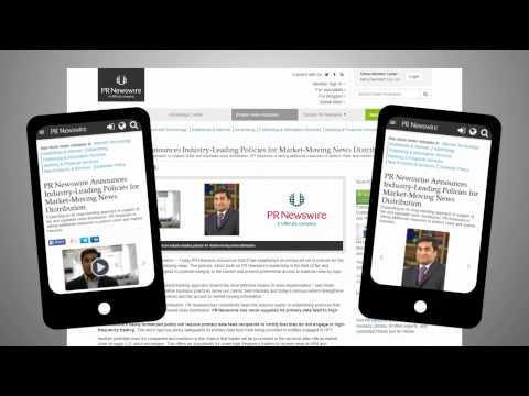 PRNewswire.com Responsive Web Design