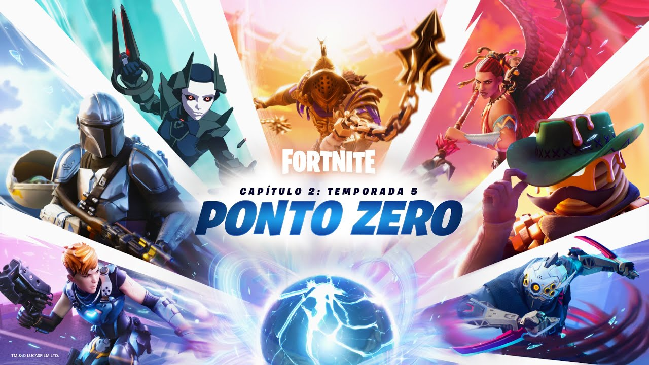 Fornite - Capítulo 2: Temporada 5 - Trailer de Lançamento Ponto Zero