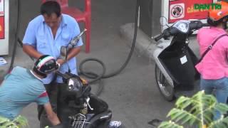 Thủ đoạn ăn cắp xăng