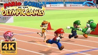 Mario & Sonic at the Olympic Games - Gameplay Wii 4K 2160p (Dolphin 5.0)