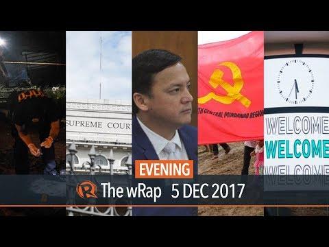 Duterte on PNP, SC affirms martial law, Marquez on Sereno | Evening wRap