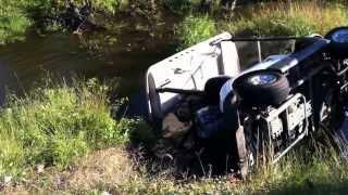 golf cart crash