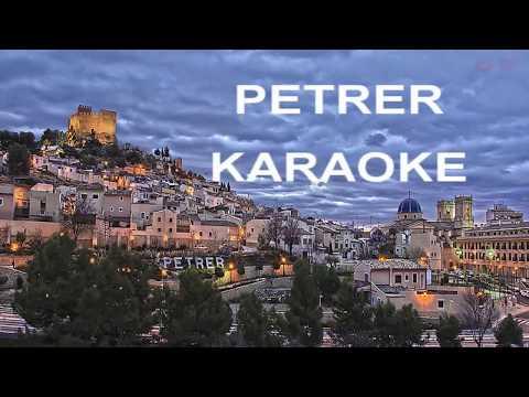 PETRER karaoke con LETRA . PASODOBLE de Miguel Villar.