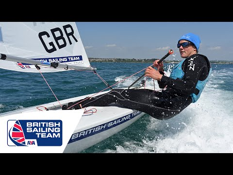 Olympics 2016 -  Laser Radial Class - Alison Young - British Sailing Team