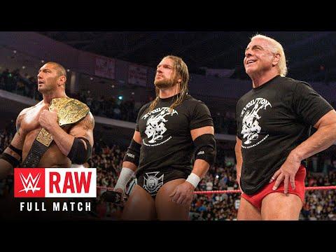 FULL-LENGTH MATCH - Raw - Evolution Reunion