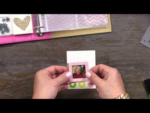 Create 3x4 Pocket Pages with Photo Overlays | Enchanted Mini Album | Simple Stories