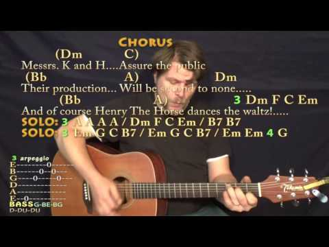 Being For the Benefit of Mr. Kite (The Beatles) Strum Guitar Cover Lesson with Chords/Lyrics