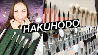 The ABSOLUTE BEST Makeup Brushes!! HAKUHODO Flagship Store Kyoto Japan