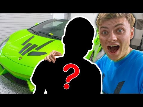 SURPRISING 1 MILLION SUBSCRIBER WITH LAMBO!!
