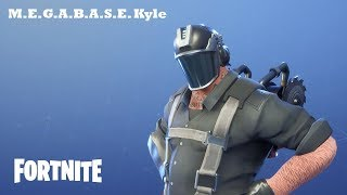 M.E.G.A.B.A.S.E. Kyle / Mythical Hero Fortnite: Saving the World #215
