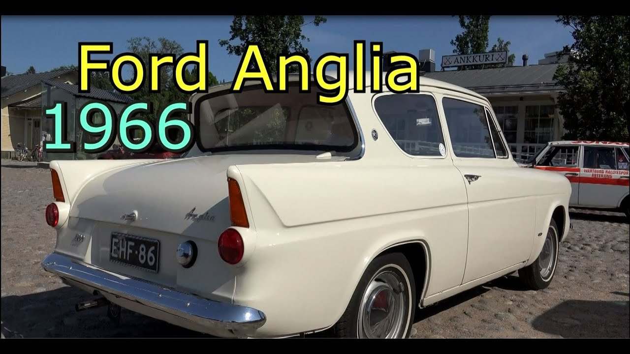 Ford anglia 1966 old classic car