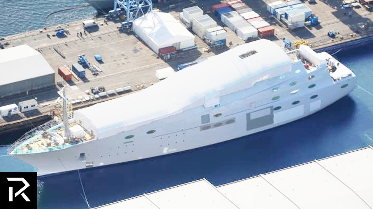 Insane Yachts Owned By The Most Powerful People In The World