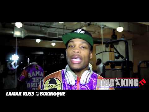 Lamar Russ Post Fight Interview After No Contest