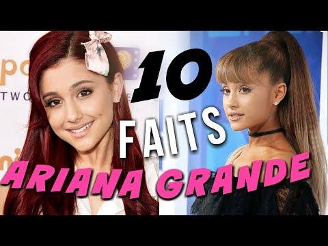 10 Faits Sur Ariana Grande !