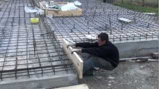 Строительство дома: Заливка фундамента ч.2(Строительство загородного дома своими руками. Ошибки строительства. База металлопроката. Эксперименты..., 2013-03-14T08:04:21.000Z)