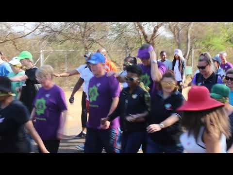 SAPS Tshwane Central Cluster 2.5 blindfolded partner walk