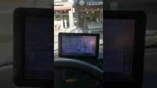 아이나비 NP500 내비게이션 GPS 테스트