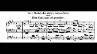 J.S. Bach - BWV 601 - Herr Christ, der ein