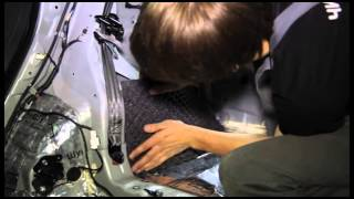 Процесс шумоизоляции Hyundai i30