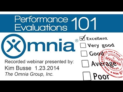 Performance Evaluations  101  - A powerful tool to boost employee productivity!
