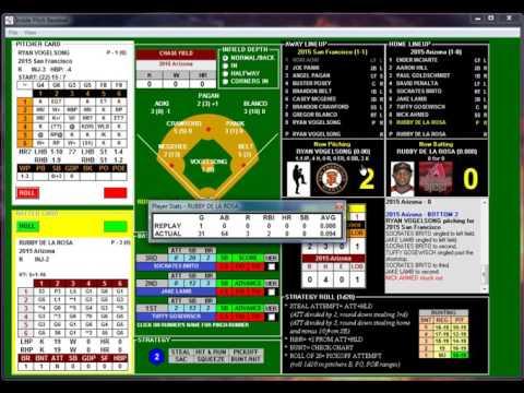 Inside Pitch Baseball 4 7 2015 SF Giants at Arizona DBacks Vogelsong vs De La Rosa