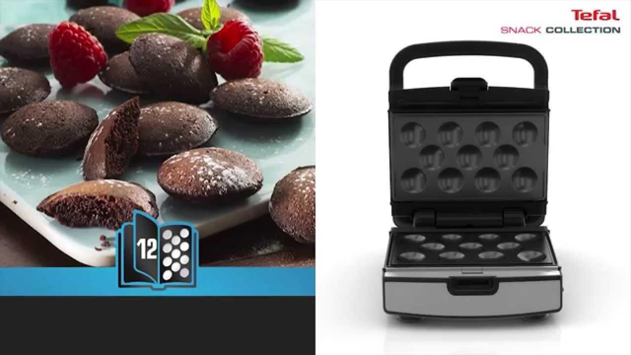 tefal snack collection przygotowanie ciastek youtube. Black Bedroom Furniture Sets. Home Design Ideas