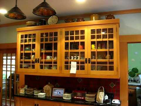 Craftsman Style Kitchen Cabinets - Youtube