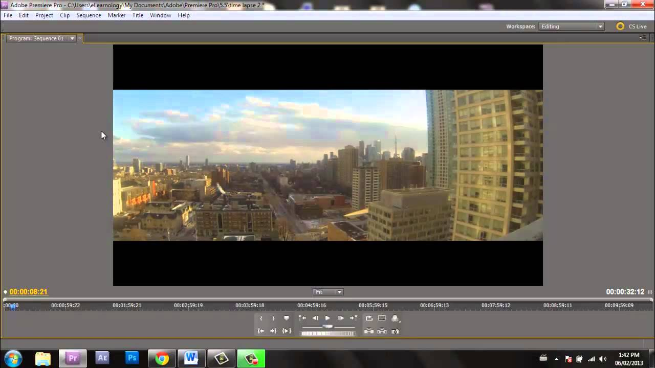 how to cut footage in premiere pro