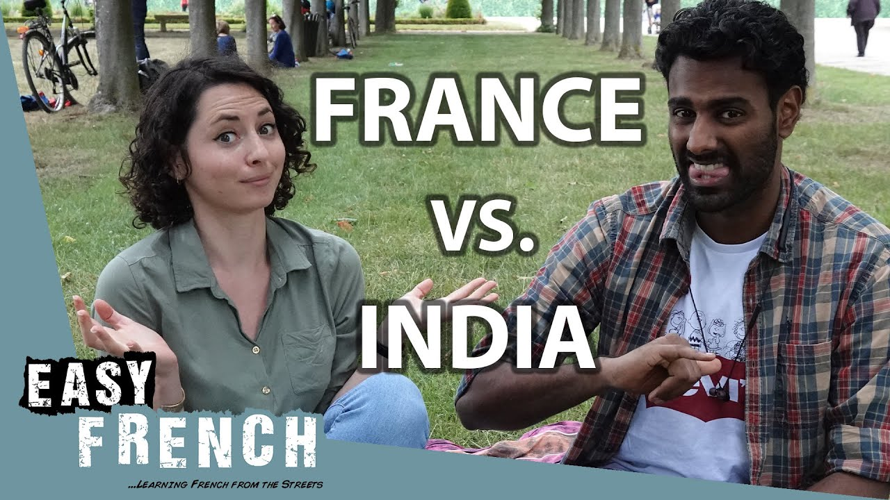 Gesture Challenge: France vs. India | Easy French 108