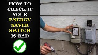 How to Check a Power Saver Switch on AC