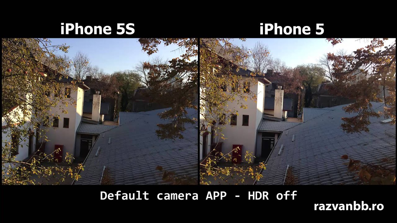 IPhone 5 Camera Vs 5s