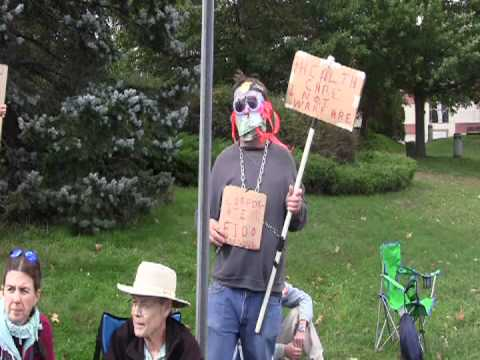 Occupy Brattleboro edited with music and interviews made for Vermont Workers Center