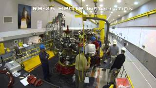 Assembling an RS-25 Engine -- In Just Two Minutes